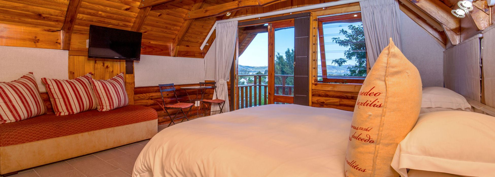 Self Catering Log Cabin Accommodation Abalone Lodges Knysna Garden Route South Africa